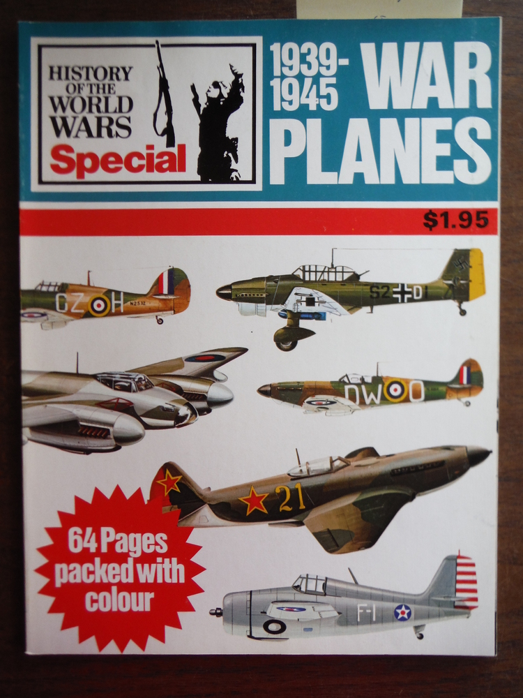 Image 0 of War Planes 1939-1945 (Purnell's History of the World Wars Special)