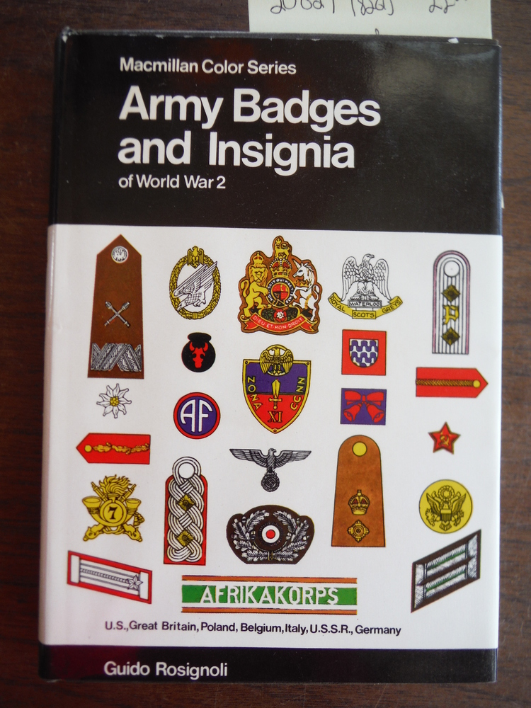 Army Badges and Insignia of World War 2 U.S., Great Britain, Poland, Belgium, It