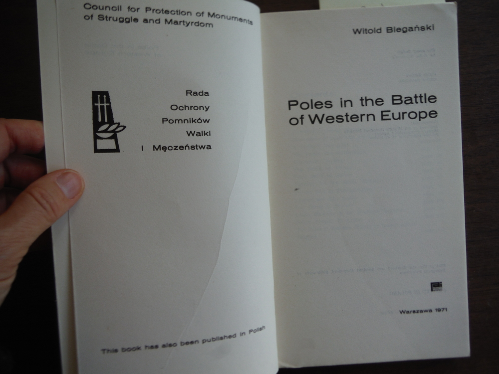 Image 1 of Poles in the Battle of Western Europe