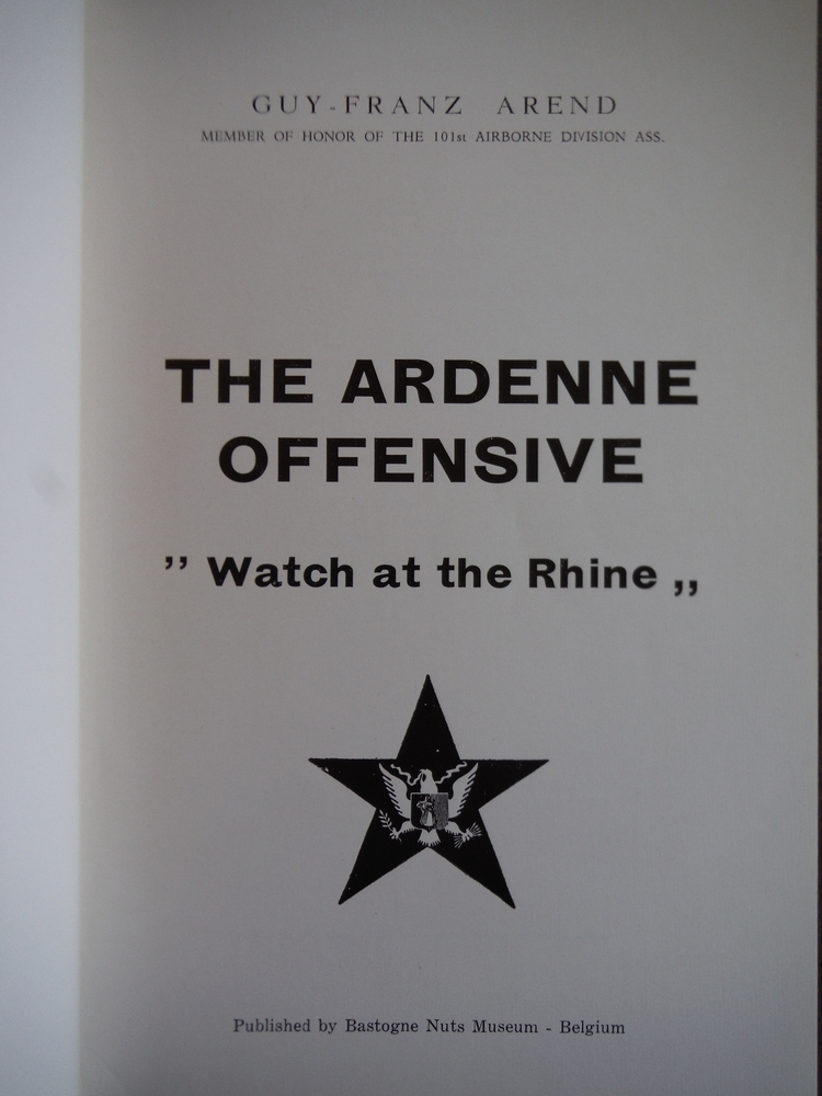 Image 1 of Ardenne Offensive: Watch at the Rhine