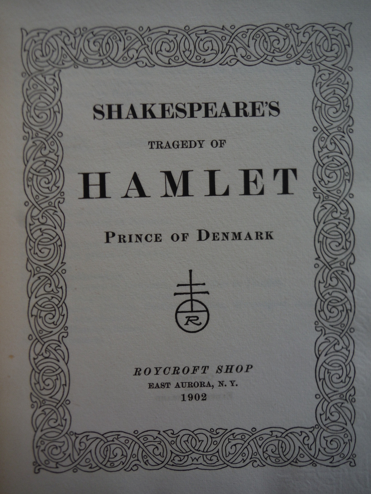 Image 1 of Shakespeare's Tragedy of Hamlet Prince of Denmark