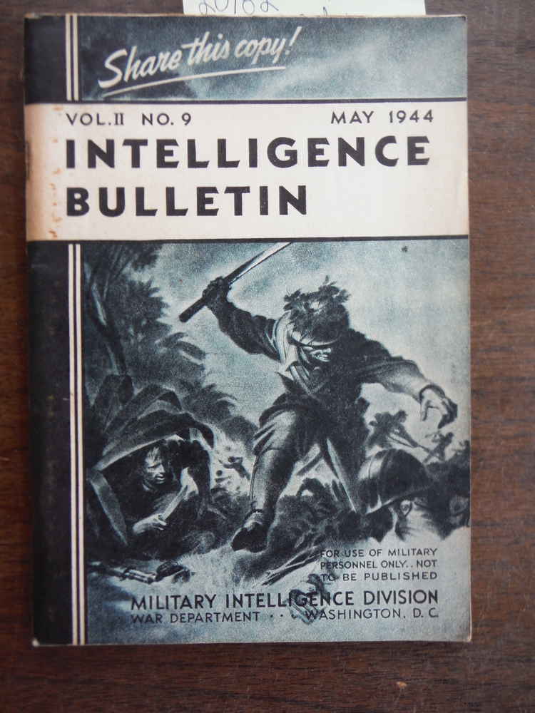 Intelligence Bulletin. Vol. II. No 9. May 1944