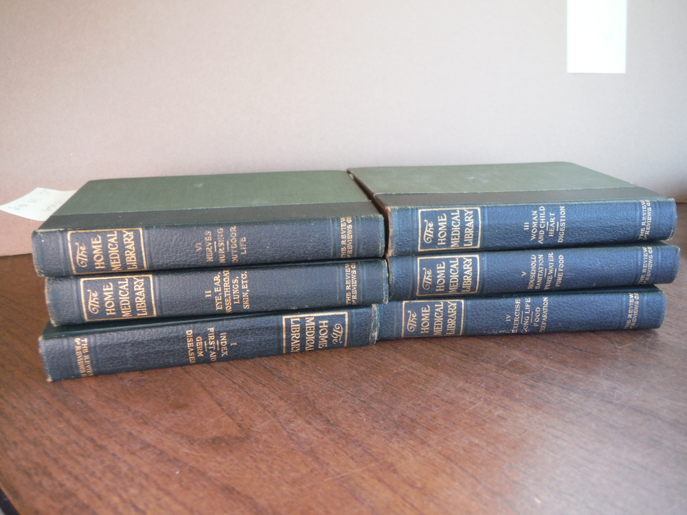 Image 0 of The Home Medical Library Vol 1 - VI