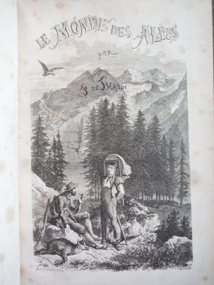 Image 1 of Le Monde Des Alpes, Ou Description Pittoresque Des Montagnes de La Suisse (2e Ed