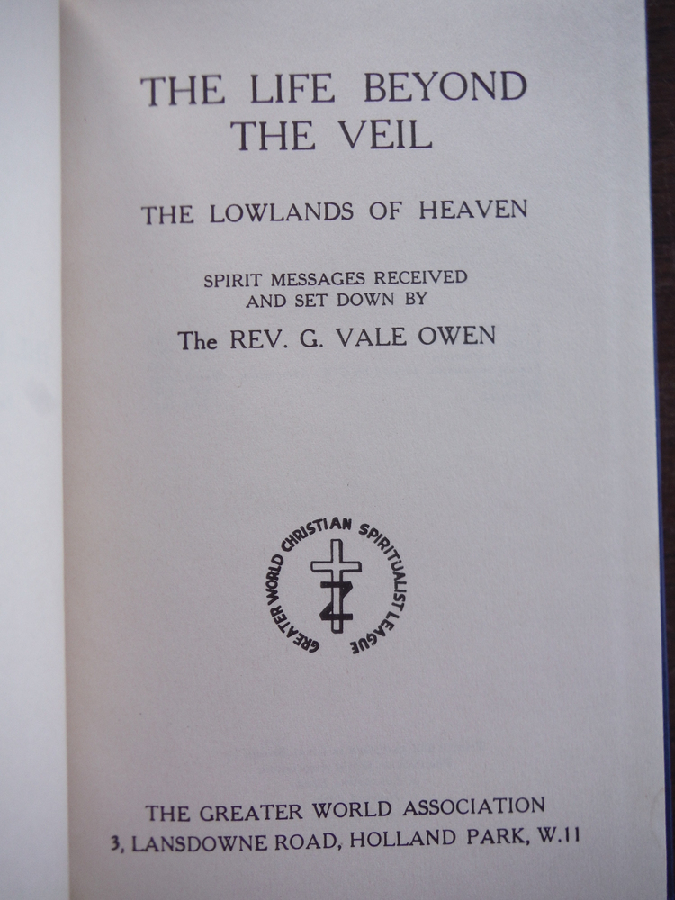 Image 1 of Life Beyond the Veil, The: The Lowlands of Heaven