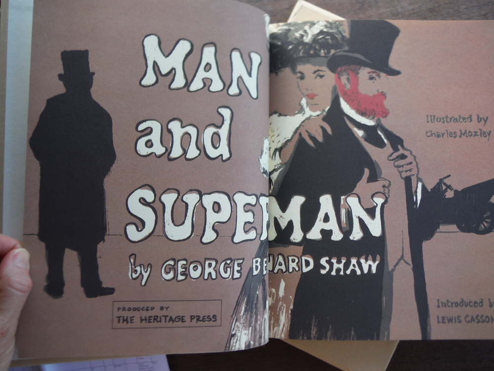 Image 1 of Man and Superman : introduced by Lewis Casson ; illustrated by Charles Mozley