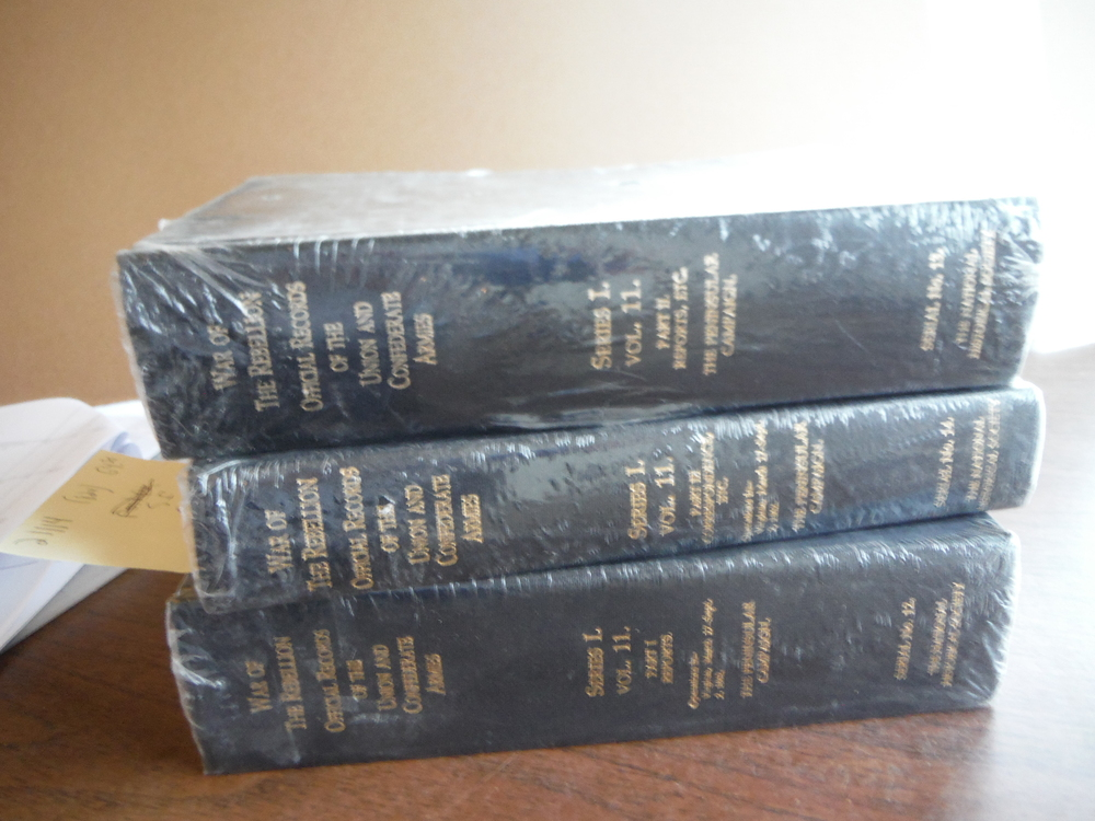 The War of the Rebellion: A Compilation of the Official Records of the Union and