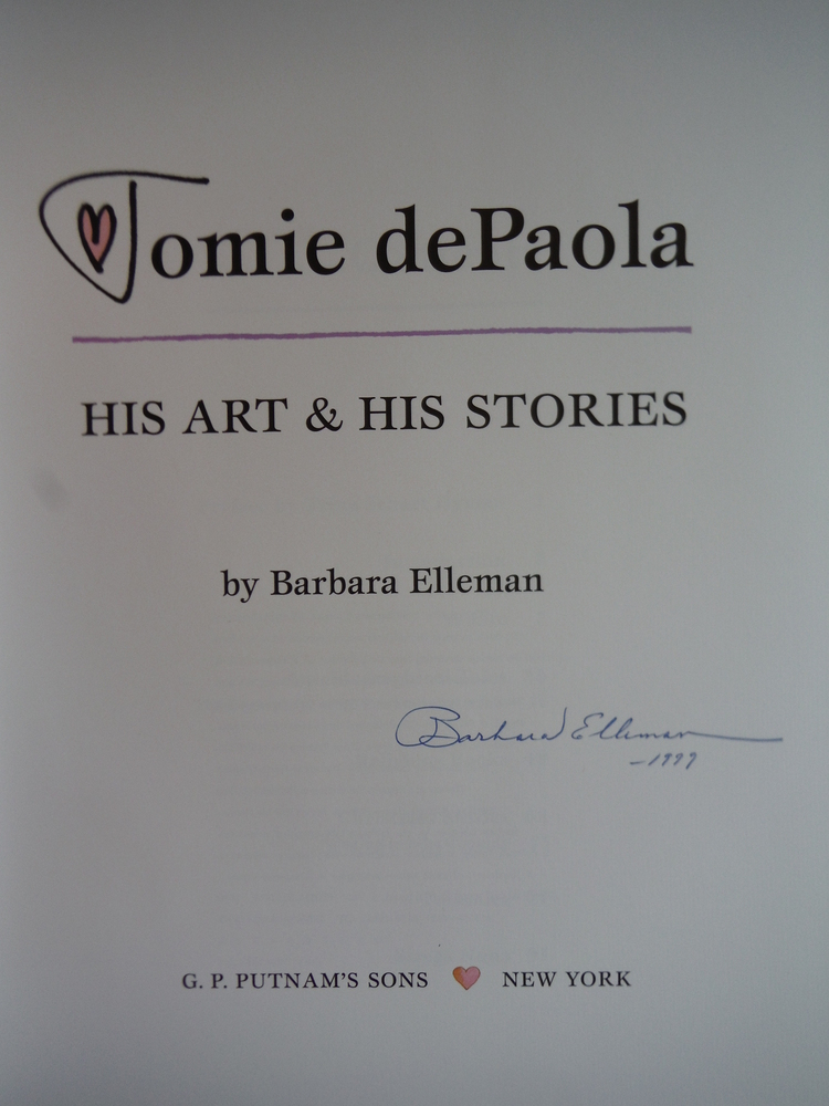 Image 1 of Tomie DePaola: His Art and His Stories