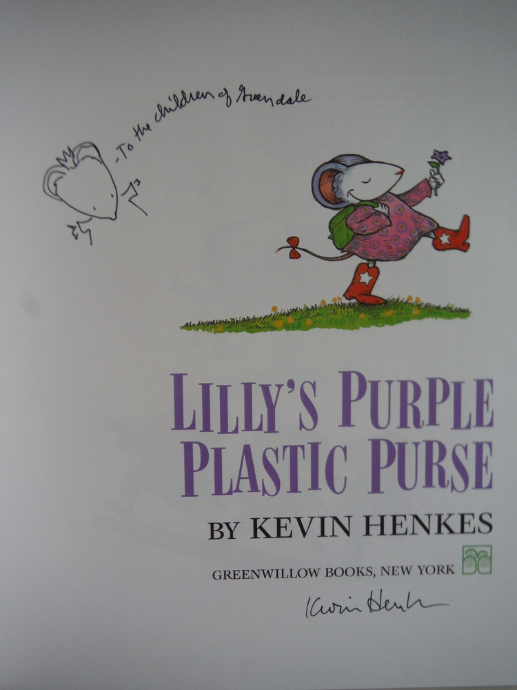 Image 1 of Lilly's Purple Plastic Purse