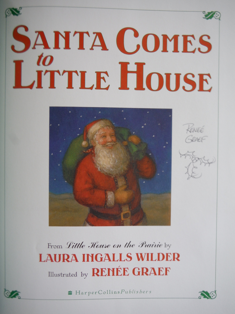 Image 1 of Santa Comes to Little House (Little House Picture Book)