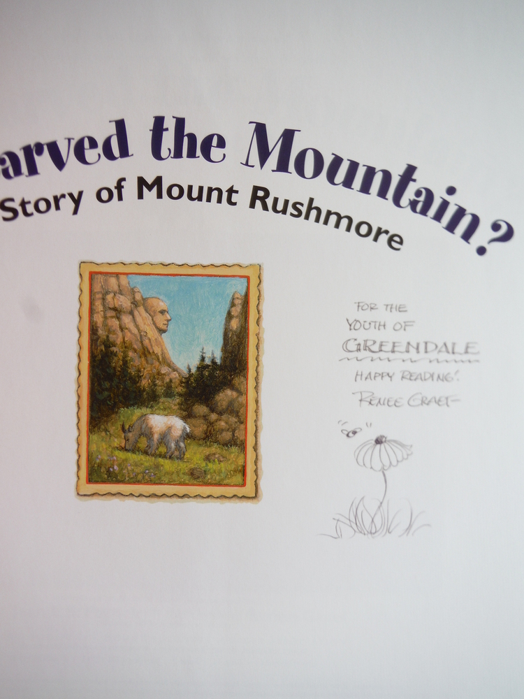 Image 1 of Who Carved the Mountain?: The Story of Mount Rushmore