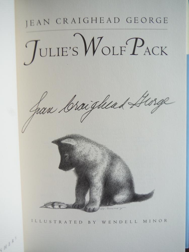 Image 1 of Julie's Wolf Pack (Julie of the Wolves)
