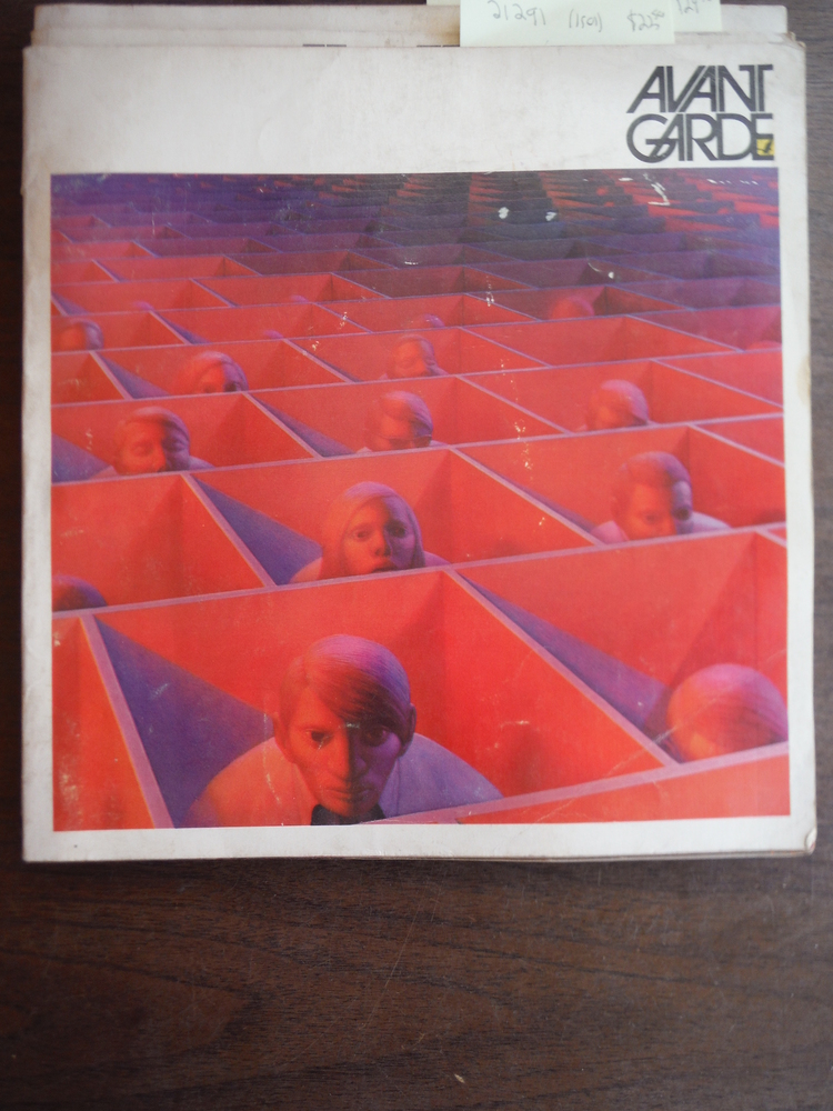 AVANT GARDE Magazine Issue # 4 Arthur Miller and Artist George Tooker Sept 1968