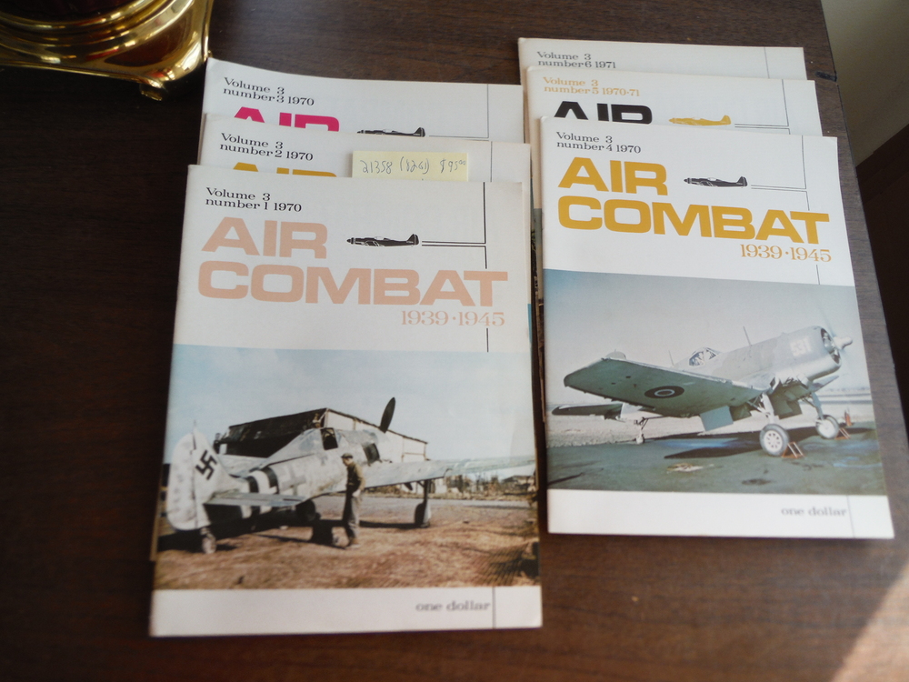 Image 0 of Air Combat 1939 - 1945 Volume 3 (Nos. 1 thru 6) 1970