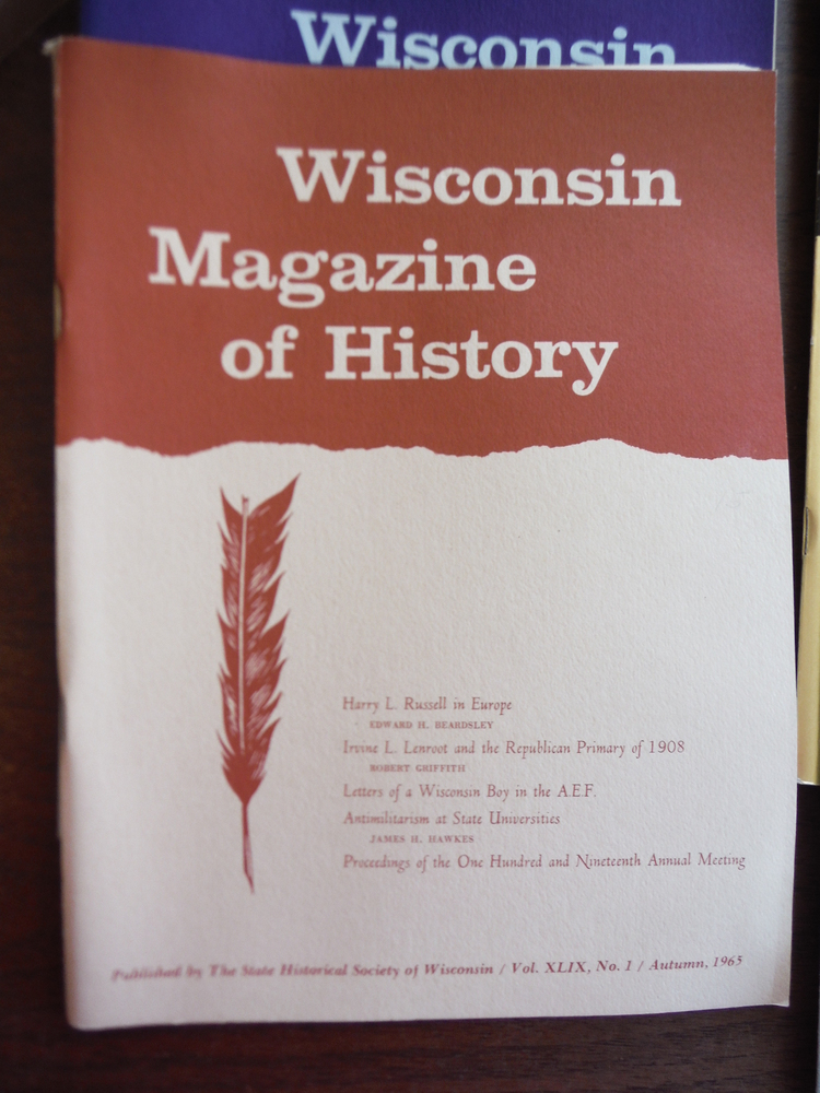 Image 1 of Wisconsin Magazine of  History Vol. XLIX Nos. 1 - 3 (1961 - 1962) and Vol L Autu