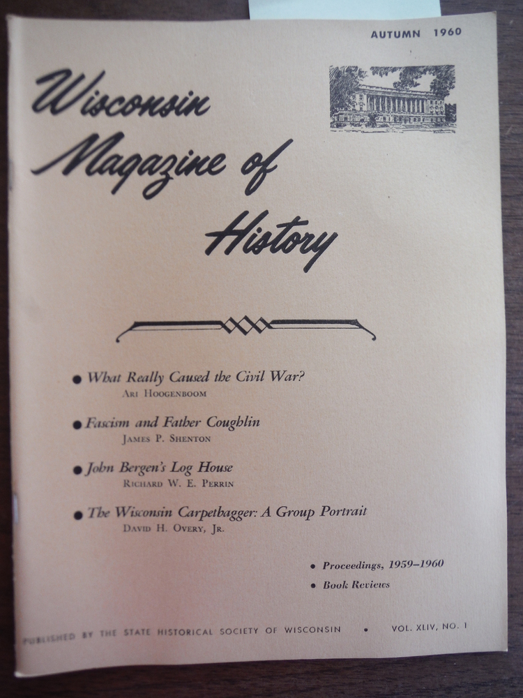 Image 0 of Wisconsin Magazine of History Vol. XLIV, No. 1 Autumn, 1960