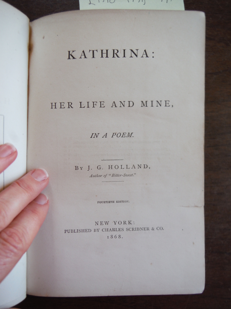 Image 1 of Kathrina: Her Life and Mine in a Poem