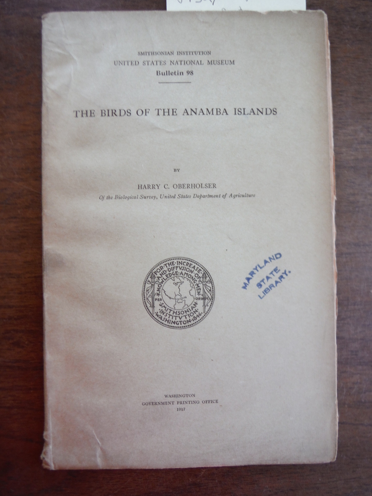 The Birds of the Anamba Islands, 1917, U. S. National Museum, Bulletin, Number 9