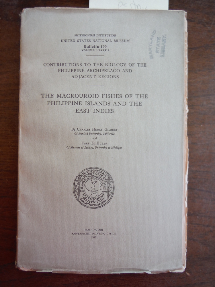 Contributions to the Biology of the Philippine Archipelago and Adjacent Regions: