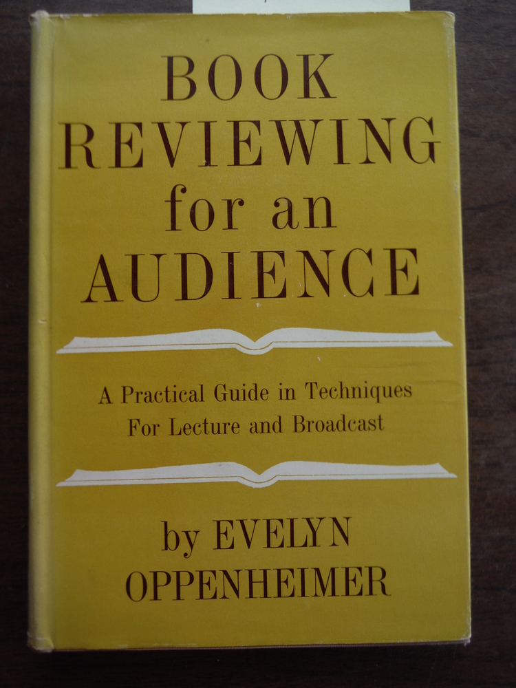 Book Reviewing for an Audience: A Practical Guide in Techniques for Lecture and