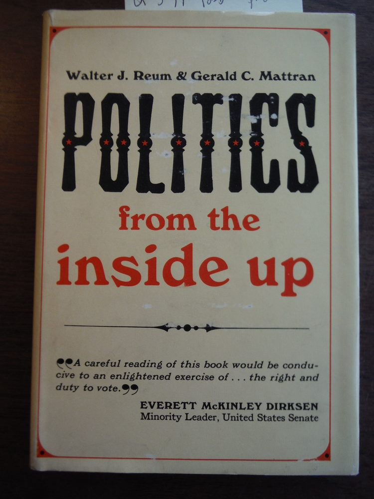 Image 0 of Politics From the Inside Up