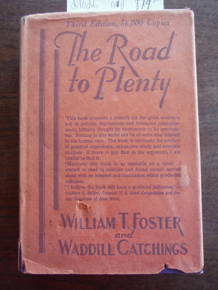 THE ROAD TO PLENTY