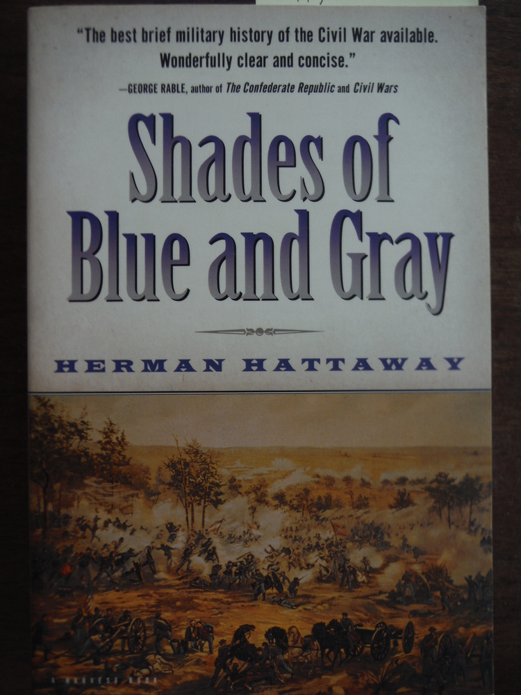 Image 0 of Shades of Blue and Gray (Harvest Book)