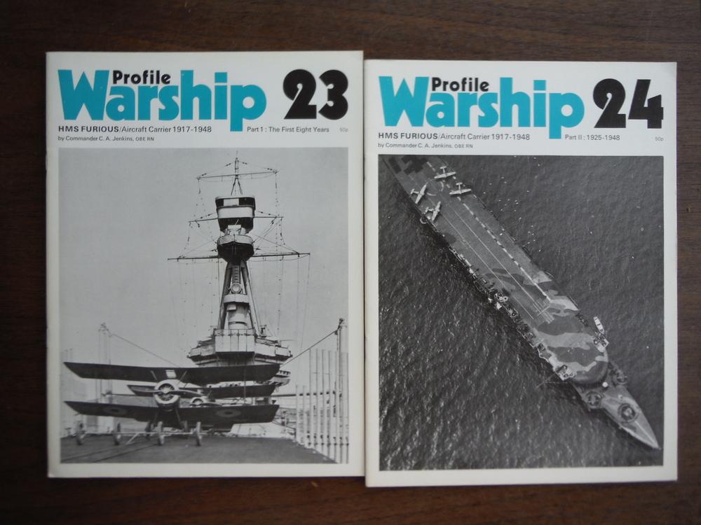 Image 0 of Warship Profiles 23 and 24: HMS Furious, Aircraft Carrier 1917-1948, 2 Parts (2