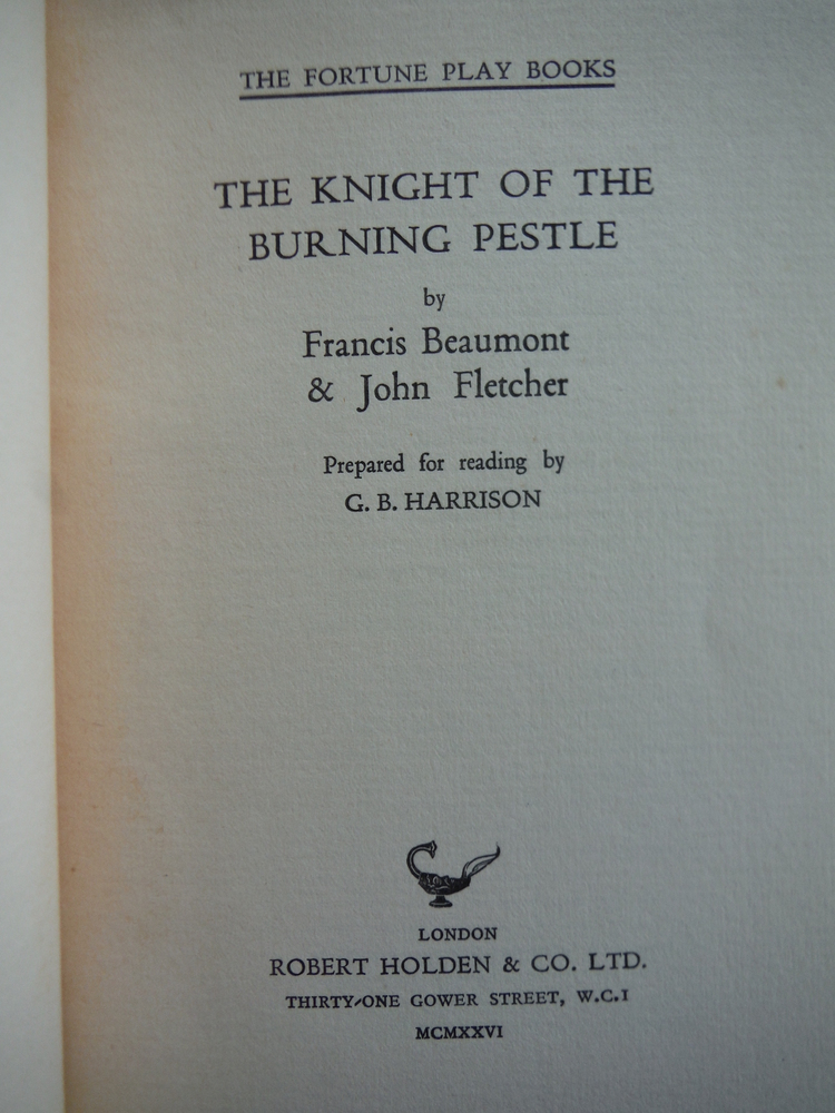 Image 1 of The knight of the burning pestle