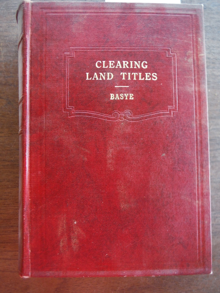 Clearing Land Titles