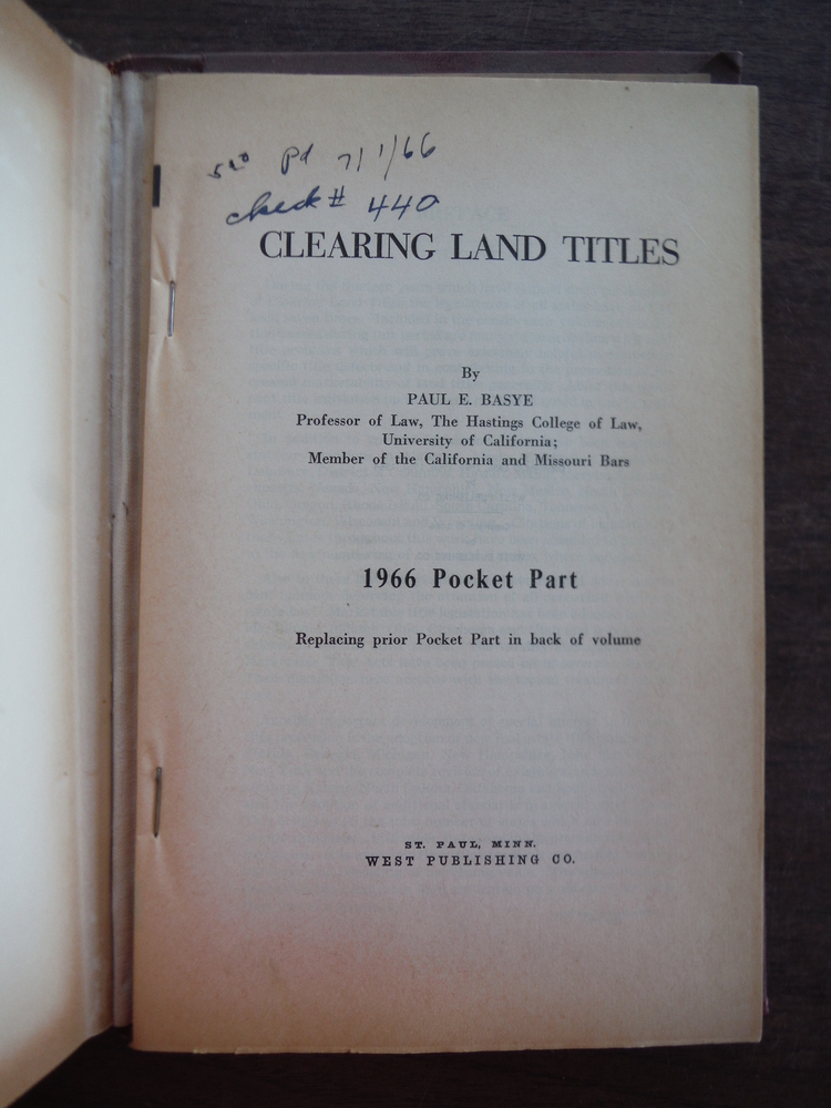 Image 2 of Clearing Land Titles