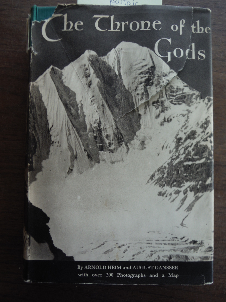 The Throne of the Gods,: An account of the first Swiss expedition to the Himalay