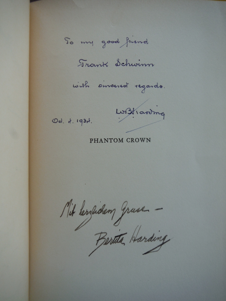 Image 1 of Phantom Crown The Story of Maximilian & Carlota of  Mexico (Signed)