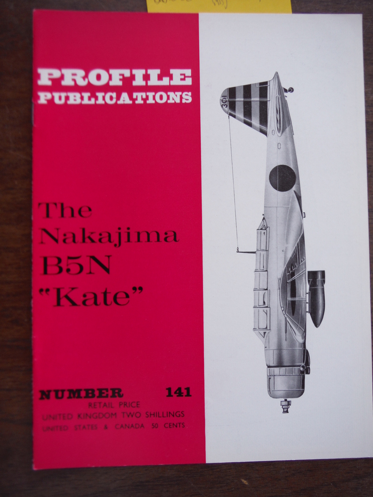 Aircraft Profile No. 141: The Nakajima B5N Kate