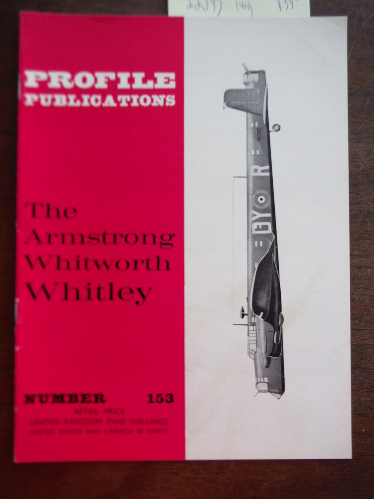 Aircraft Profile No. 153: The Armstrong Whitworth Whitley