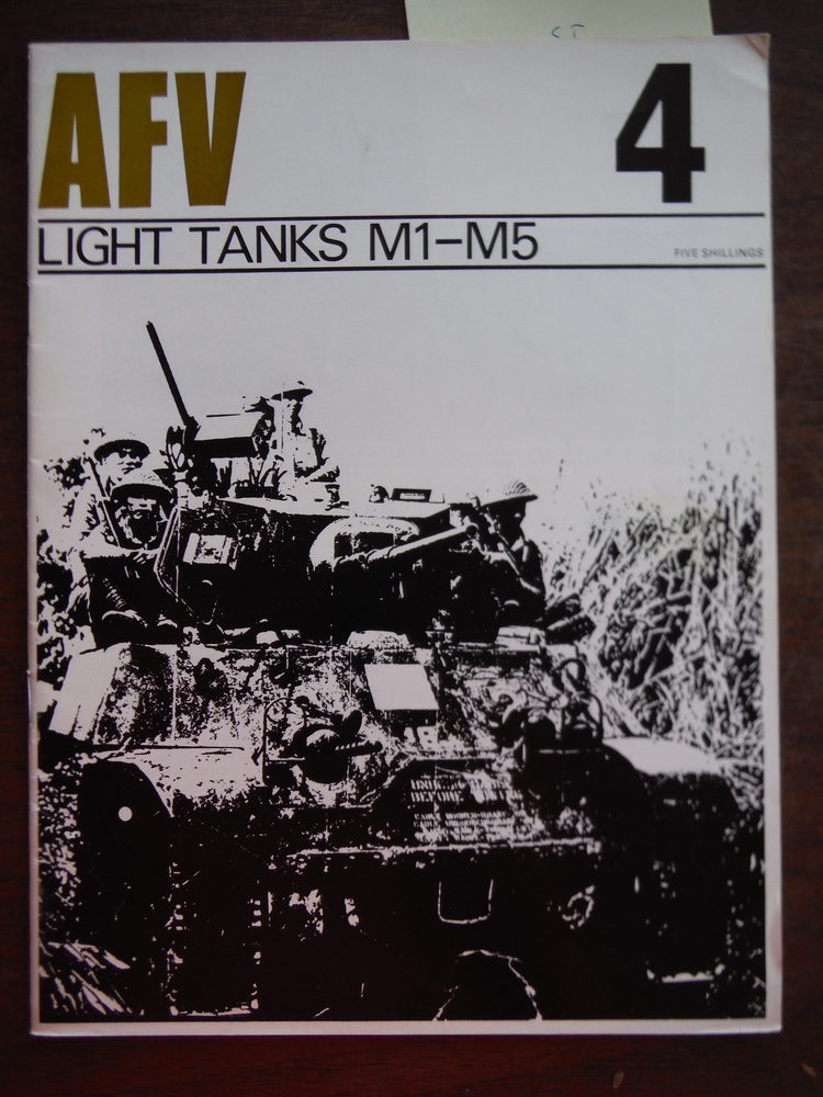 Profile Publications AFV Series Volume 4 Light Tanks M1 - M5