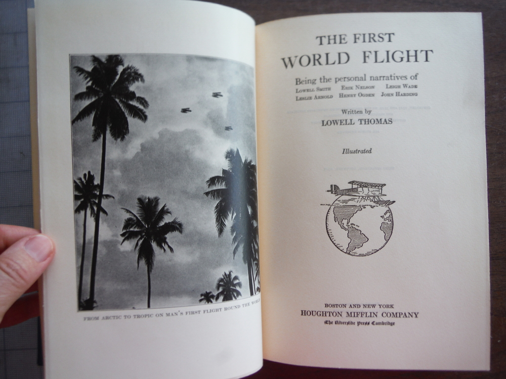 Image 1 of The first world flight: Being the personal narratives of Lowell Smith, Erik Nels