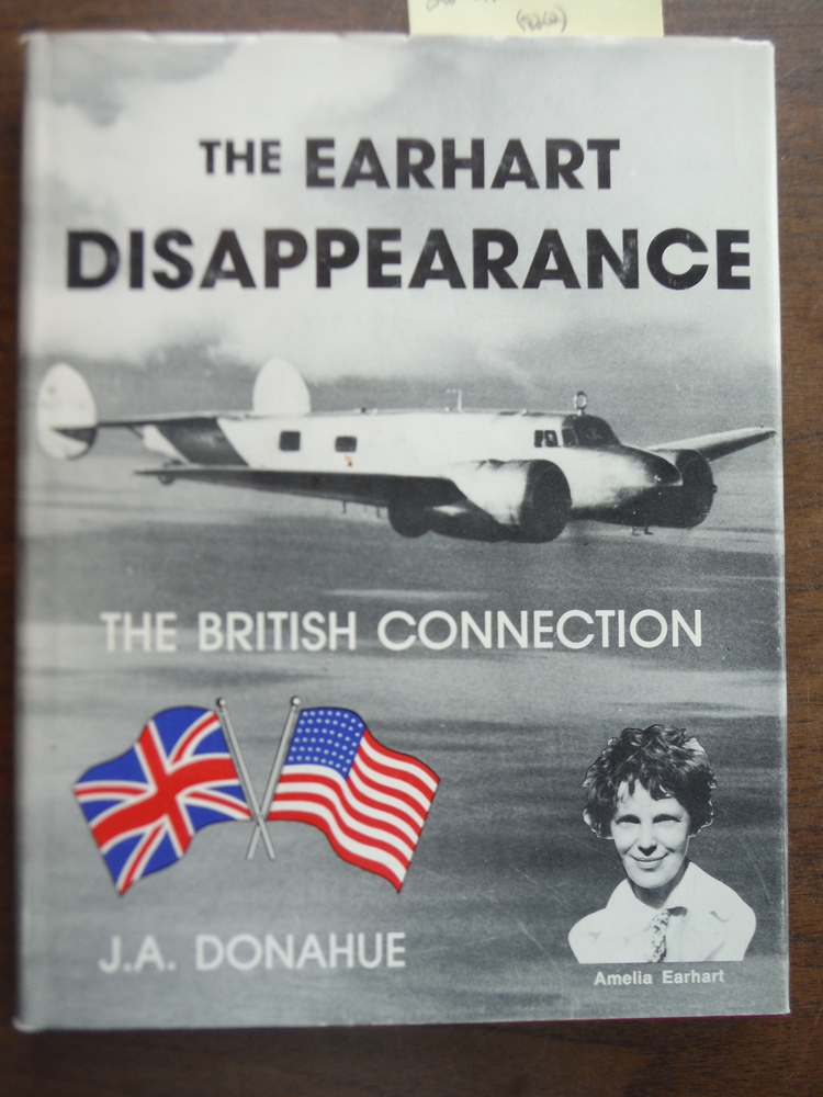 Earhart Disappearance: British Connection (Aviation heritage library series)