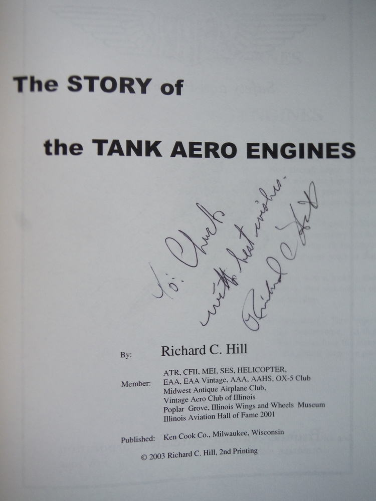 Image 1 of The Story of the Tank Aero Engines