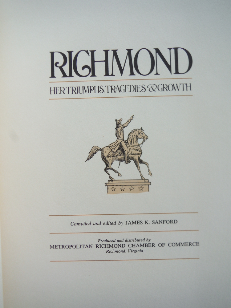 Image 2 of RICHMOND: Her Triumphs, Tragedies & Growth