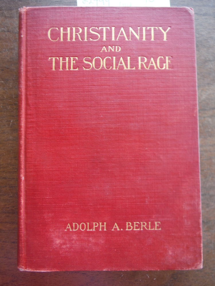 Christianity and the social rage,