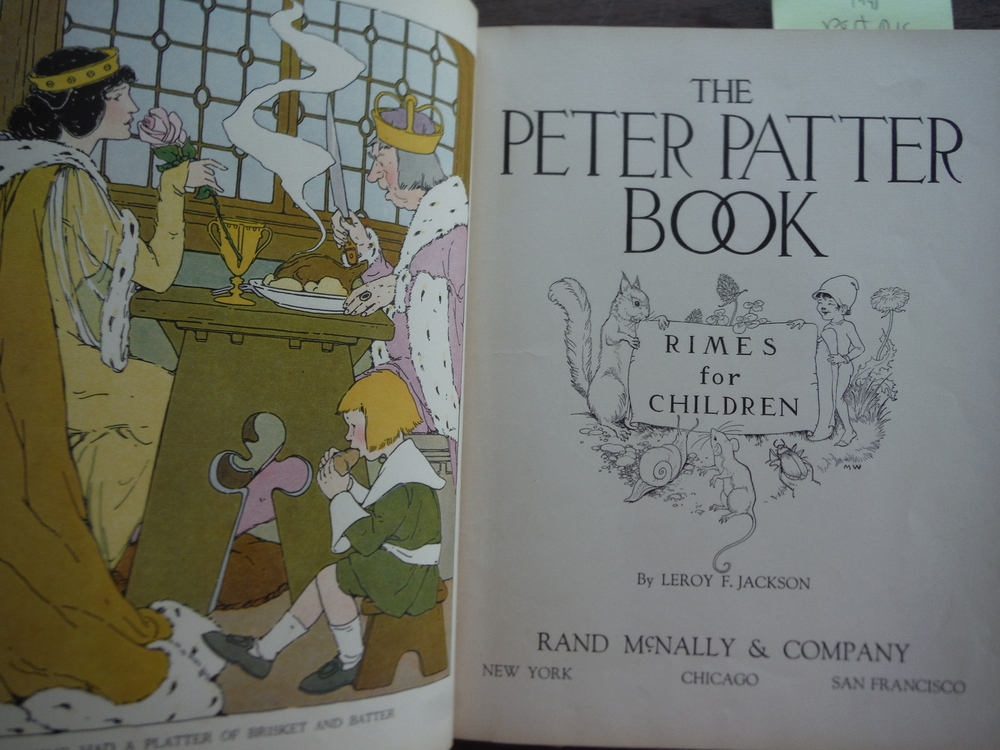 Image 1 of The Peter Patter Book Rimes for Children