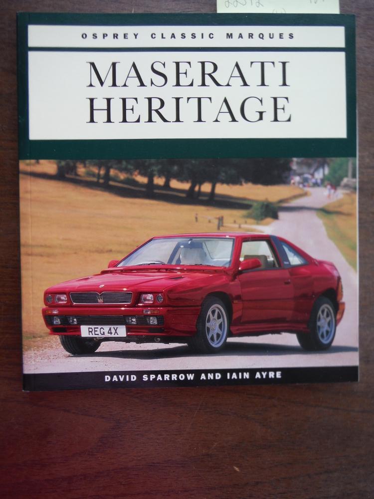 Maserati Heritage (Osprey Classic Marques)