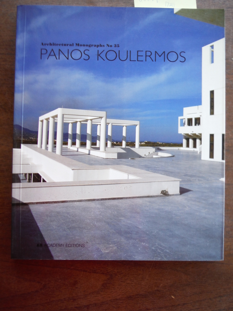 Image 0 of Panos Koulermos (Architectural Monographs No 35)