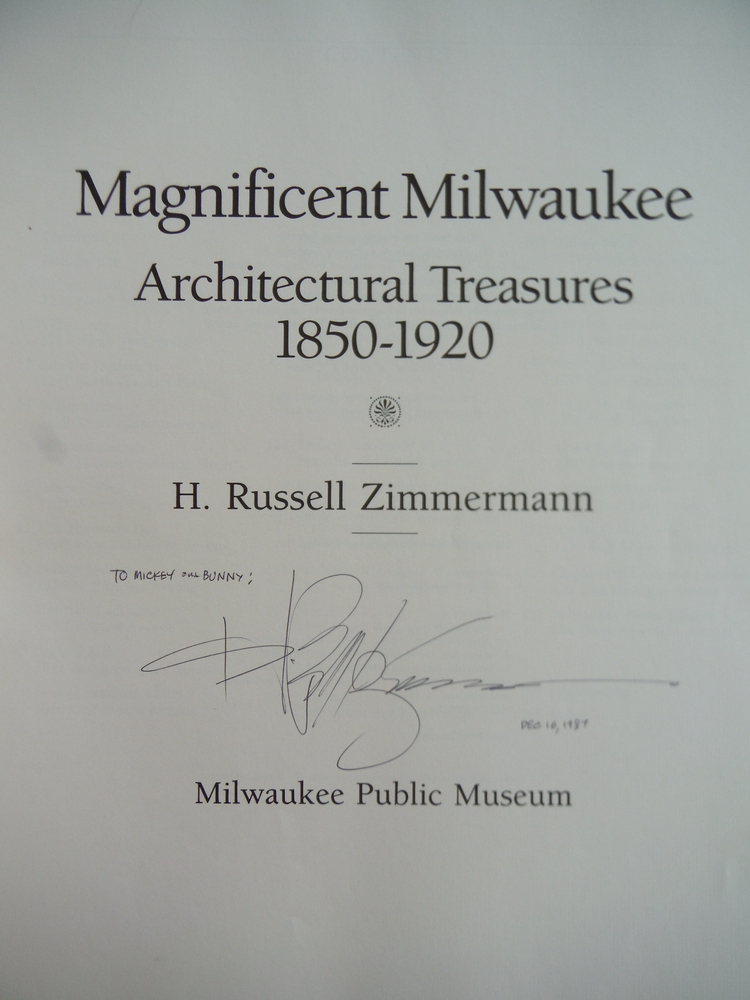 Image 1 of Magnificent Milwaukee: Architectural Treasures, 1850-1920