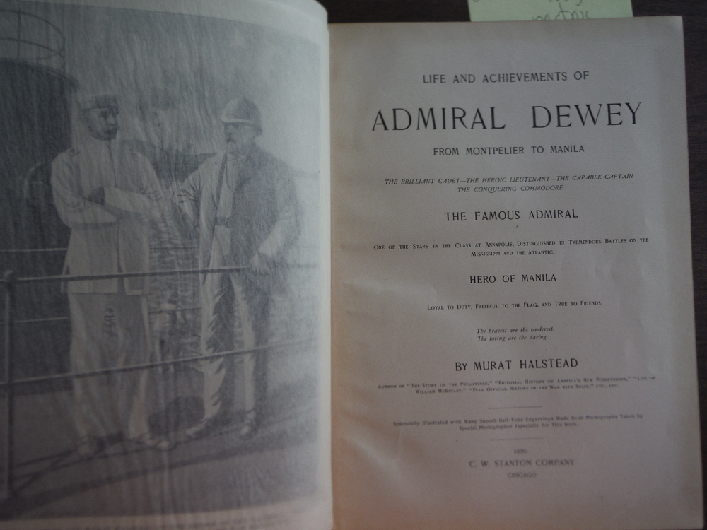 Image 1 of Life and Achievements of Admiral Dewey, from Montpelier to Manila