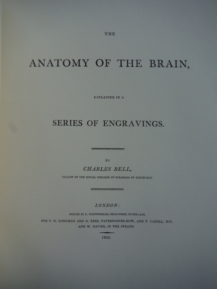Image 1 of Engravings of the Brain and Nerves. Including Facsimiles of the First Editions o