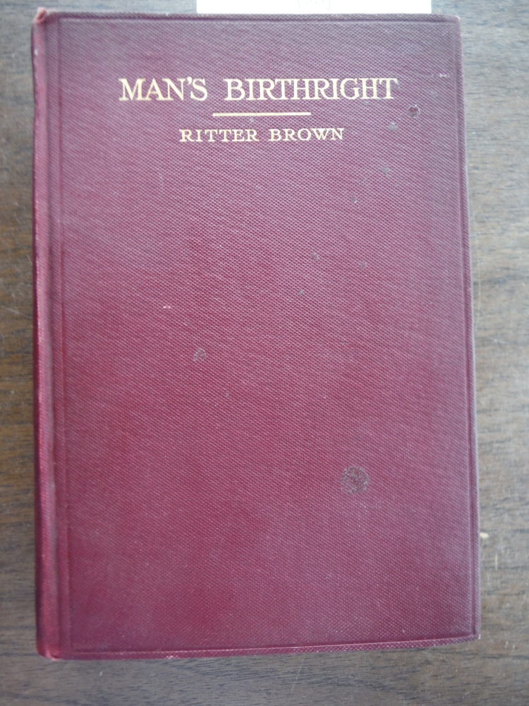 MAN'S BIRTHRIGHT [1911]