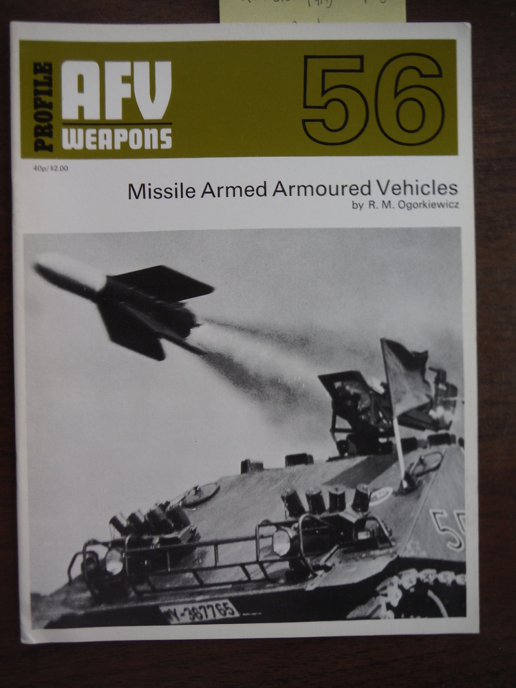 Image 0 of AFV Weapons Profile No. 56: Missile Armed Armoured Vehicles