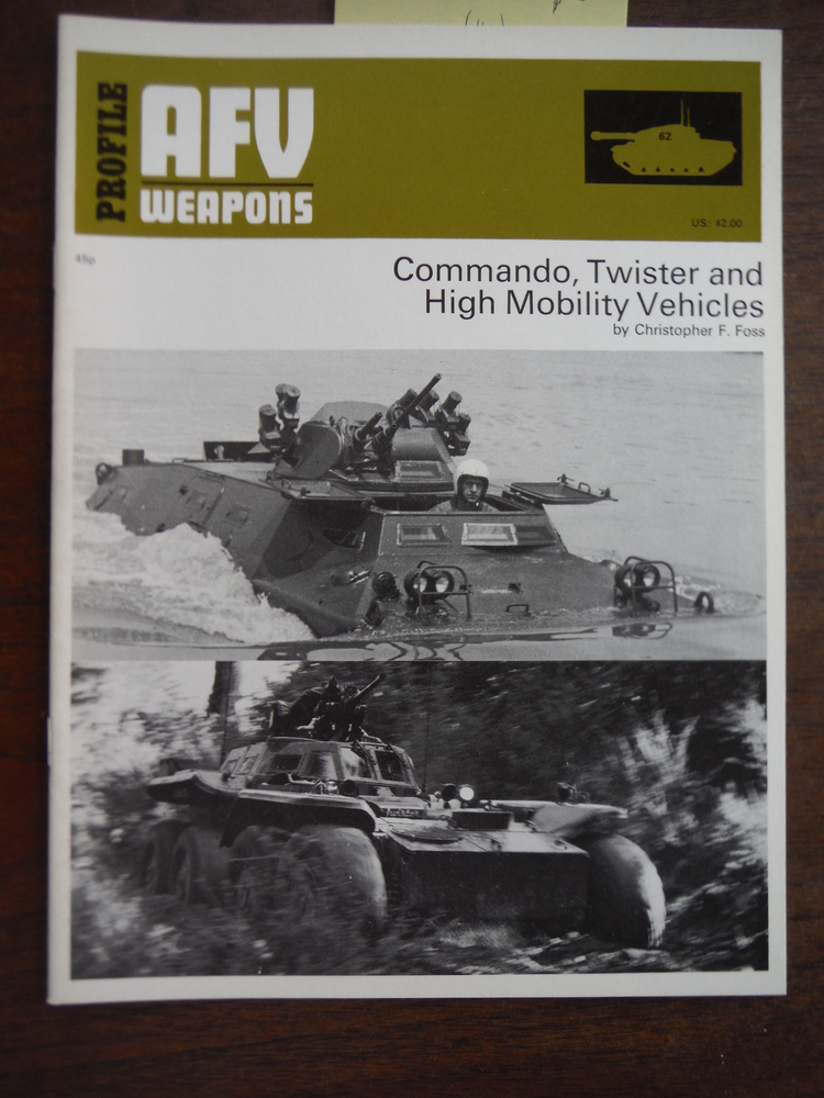 Image 0 of PROFILE AFV WEAPONS:62-COMMANDO, TWISTER AND HIGH MOBILITY VEHICLES.